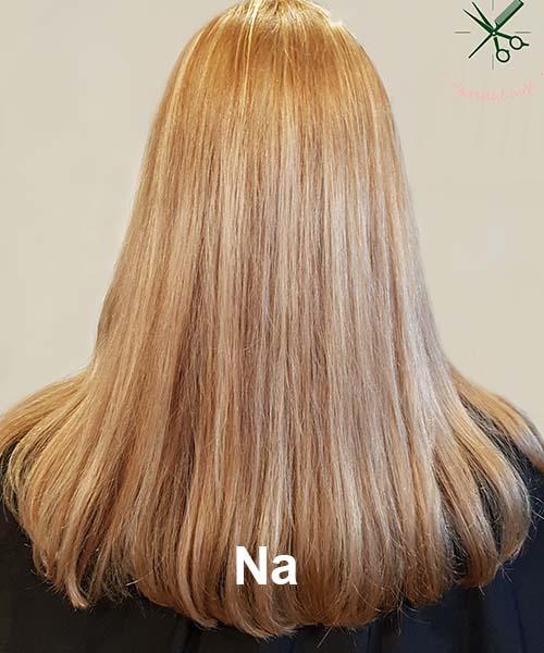 Haarstijl Inge - Voorbeelden van kapsels - hair style 10 na