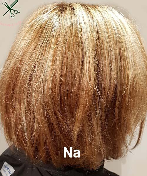 Haarstijl Inge - Voorbeelden van kapsels - hair style 11 na
