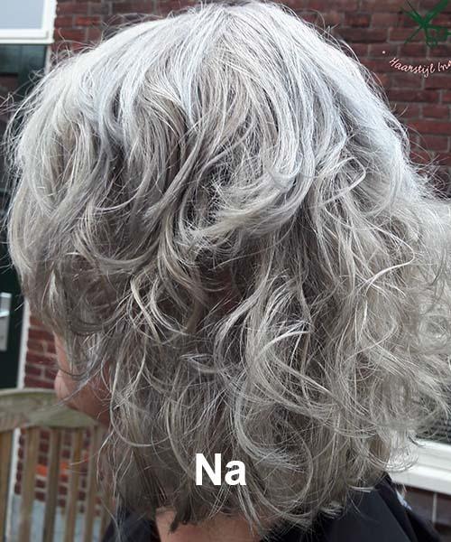 Haarstijl Inge - Voorbeelden van kapsels - hair style 4 na