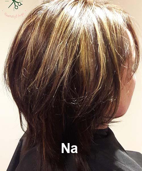 Haarstijl Inge - Voorbeelden van kapsels - hair style 5 na