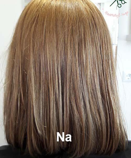 Haarstijl Inge - Voorbeelden van kapsels - hair style 6 na