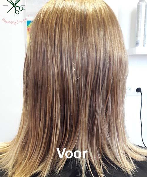 Haarstijl Inge - Voorbeelden van kapsels - hair style 6 voor