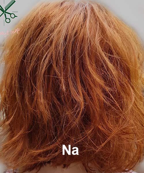 Haarstijl Inge - Voorbeelden van kapsels - hair style 7 na