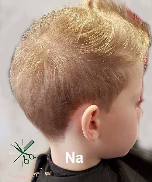 Haarstijl Inge - Voorbeelden van kapsels - hair style 8 na