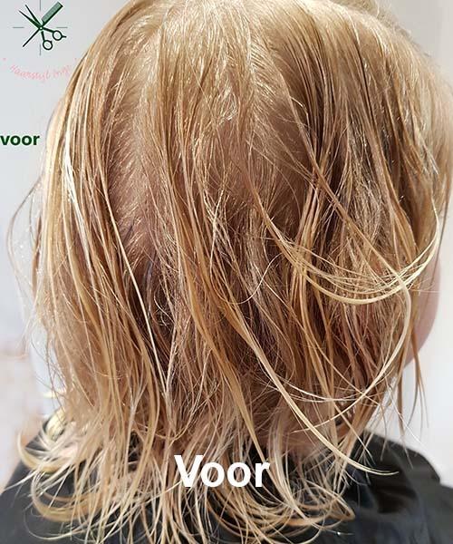 Haarstijl Inge - Voorbeelden van kapsels - hair style 8 voor